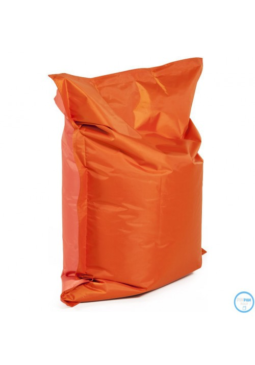 Pouf Sac à Billes orange